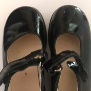 Shoes - Little Girls Black Mary Janes